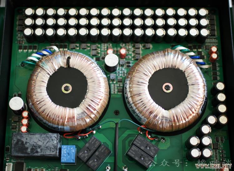 下层电路板,双环牛设计,数字,模拟部分独立供电