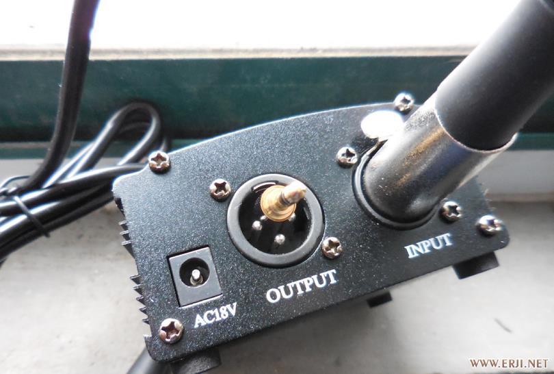 急 电容麦幻象输出去接到笔记本话筒输入,怎么接线?
